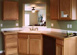 oak kitchen design ideas appealing brown color kitchen wood countertops features white