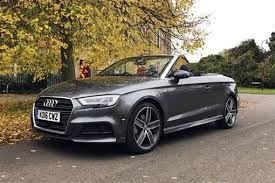 convertible audi 2016 audi a3 cabriolet s line 2 0 tdi 150ps 05 16 on 2d road test parkers