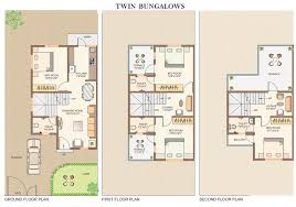 Twin Home Floor Plans Floor Plan Noble Infratech Pvt Ltd Ranwara At Hingna Road