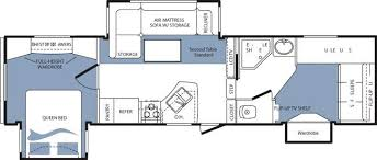 Cougar 5th Wheel Floor Plans 2008 Keystone Cougar 316qbs Fifth Wheel Owatonna Mn Noble Rv