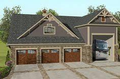 Rv Garage Apartment Plan 35489gh Rv Garage With Apartment Above Garage Shop