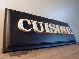 panneau cuisine plaque de porte pour la cuisine