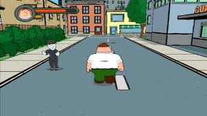 how family guy the video game dealt with invisible walls gaming