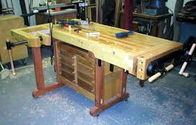 How To Build A Bench Vise Charlie B U0027s Making A Cabinet Maker U0027s Bench Index