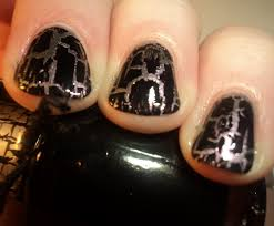 black crackle nail polish good taste