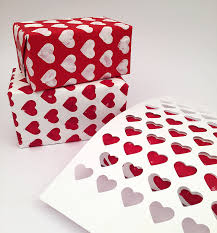 heart wrapping paper sted wrapping paper
