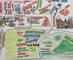 Map A Walking Route by A Free Self Guided Walking Tour Of Edinburgh