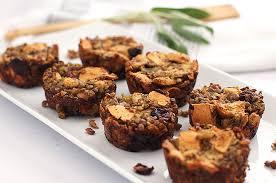 vegan gluten free thanksgiving lentil muffins