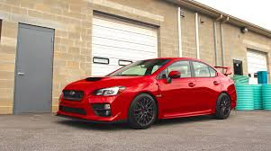 subaru wrx slammed car picker red subaru wrx sti