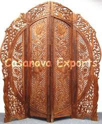 attractive wooden screen room divider bamboo polesroom divider