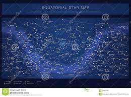 Star Maps Detailed Star Map With Names Of Stars Stock Vector Image 56022491