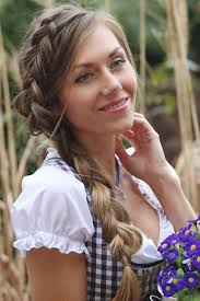 Dirndl Kurzhaarfrisuren Zum Selber Machen by 62 Best Oktoberfest Dirndl Frisuren Images On