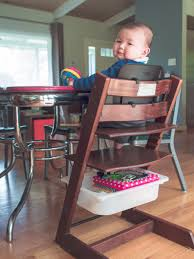 stokke tripp trapp high chair with a cheap trofast storage hack