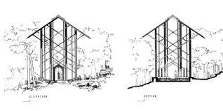 thorncrown chapel data photos u0026 plans wikiarquitectura