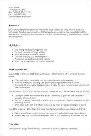 business resume 10 example for entrepreneur nardellidesign com