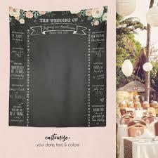 Wedding Backdrop Banner The 25 Best Wedding Chalkboard Backdrop Ideas On Pinterest