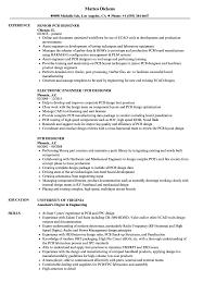 sle of resume pcb designer resume sles velvet