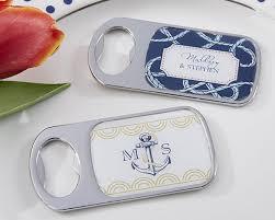 nautical wedding favors nautical wedding themed bottle opener with epoxy dome available