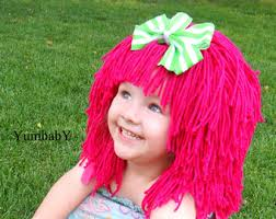 Strawberry Halloween Costume Baby Cabbage Patch Hat Beanie Wig Baby Costume Costumes