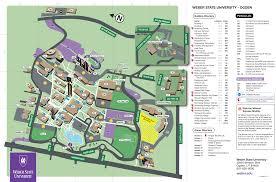 Utah State University Map by Parking
