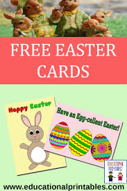 free easter cards free easter cards educational printables