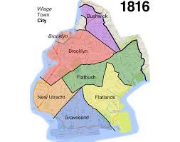 Williamsburg Brooklyn Map Brooklyn U0027s Evolution From Small Town To Big City To Borough