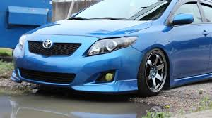 stanced toyota corolla smexy corolla s youtube