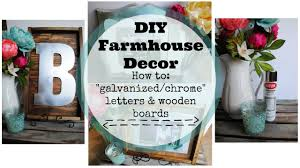 Galvanized Decor Diy Farmhouse Decor