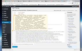 wordpress theme editor gone update button disabled on error issue 95 wordpress better code
