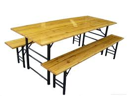 german beer garden table and bench furniture marvellous single leg green beer garden table and bench
