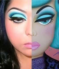 vine barbie makeup
