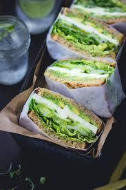 the bojon gourmet green goddess sandwiches avocado mozzarella