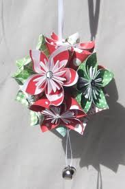 large origami tree ornament aftcra