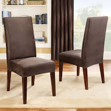 Dining Room Chair Covers With Arms Leather Dining Chair Slipcovers Gallery Dining