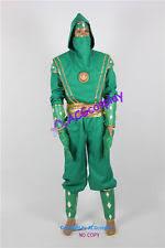 green ranger cosplay japanese anime ebay