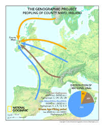 Map Of Ireland And England by The Genographic Project Returns To Ireland To Reveal Dna Results