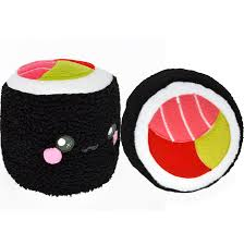 sushi roll plushie pillow cushion novelty home decor food