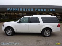 ford expedition el 2010 ford expedition el limited 4x4 in white platinum tri coat