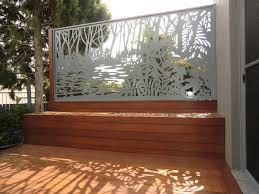 backyards wondrous corrugated metal privacy screen less framing