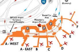 philadelphia international airport map dining options at philadelphia airport philadelphia airport
