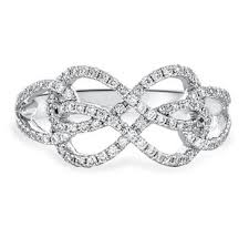 infinity diamond ring infinity diamond ring at www anthonylaurencejewelers
