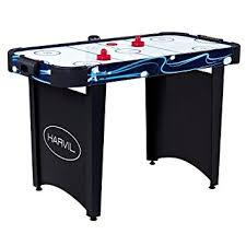 Amazon Com Harvil 4 Foot Air Hockey Table Air Hockey Equipment