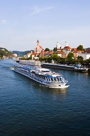 on a european river cruise along the danube glide by