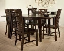Dining Table Teak Dark Teak Extending Dining Table Wooden Extendable Tables