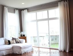 Open Those Curtains Wide Make Extra Long Curtains Using Inexpensive Bed Bath And Beyond