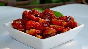 cuisiner les tomates cerises tomates cerises confites à l huile recette par la p tite cuisine