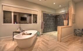 Hardwood Floors In Bathroom To Always Make The Most Of Your Herringbone Floors