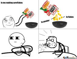 Corn Flakes Meme - cornflakes pouder by thedome5 meme center