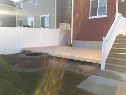 Budget Backyard To Build A Simple Diy Deck On A Budget