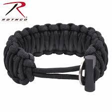 fire cord bracelet images Rothco paracord bracelet w firestarter jpg
